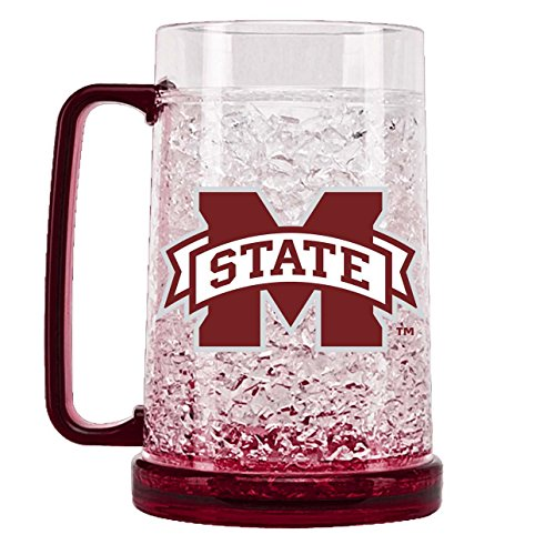 State Freezer Mug - Duck House NCAA Mississippi State Bulldogs 16oz Crystal Freezer Mug