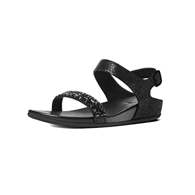 6c64410261a5e ... All Black Sandals Outlet 504BPJ57 new appearance 8fb10 c2771  FitFlop  Womens Banda Roxy Sandals (Black