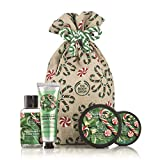 The Body Shop Festive Sack of Peppermint Candy Cane Delights