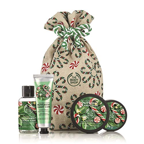 (The Body Shop Festive Sack of Peppermint Candy Cane Delights )