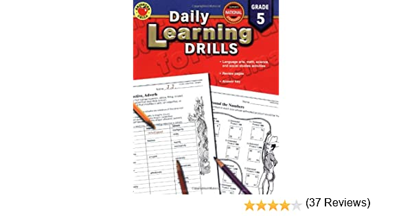 Daily Learning Drills Grade 5: Vincent Douglas, Brighter Child ...