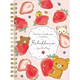 San-X Rilakkuma Strawberry Party design B6Sp Notebook Pink Ny12701