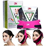 Face Firming Mask, Face Slimming Cheek Mask, Chin Lift Up Mask with Bandage Belt for Tightening Face Skin and Making V…