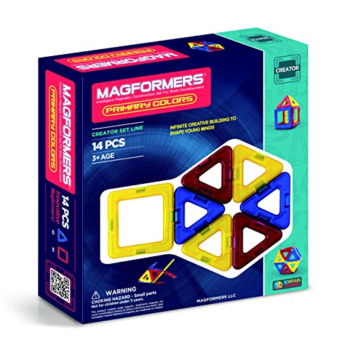 Magformers Creator Primary Colors Set (14-pieces) JungleDealsBlog.com