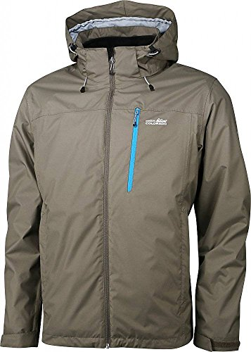 High Colorado Herren 2in1 Jacke Doppeljacke Outdoorjacke CALGARY MEN oliv
