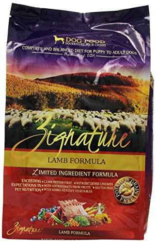 Zignature Lamb Dry Dog Food, 4-Pound Review