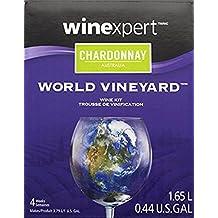 Winexpert HOZQ8-1202 Australian Chardonnay One gal Wine Ingredient Kit, Yellow