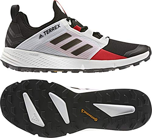 adidas outdoor Terrex Speed Ld Mens Trail Running Shoe Black/Black/Active Red, Size 10.5