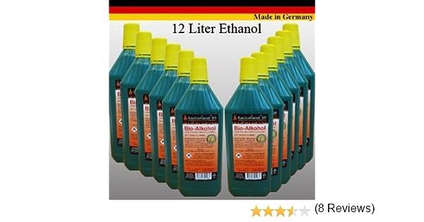 Bioetanol Bio Alcohol Elige de entre 5, 12, 24 litros. Por Chimenea etanol (24 Litros): Amazon.es: Hogar