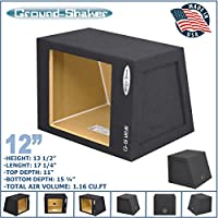 12 Single Sealed Solobaric Sub Box L7 L5 L3 Square Subwoofer Enclosure