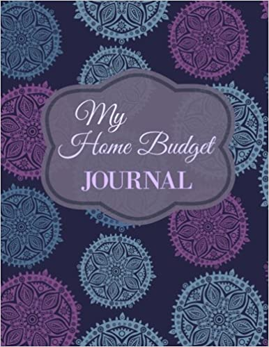 Amazon.com: My Home Budget Journal (Extra Large Bill Planner with ...