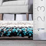 nuLOOM Classie Hand Tufted Shag Area Rug, 6' x