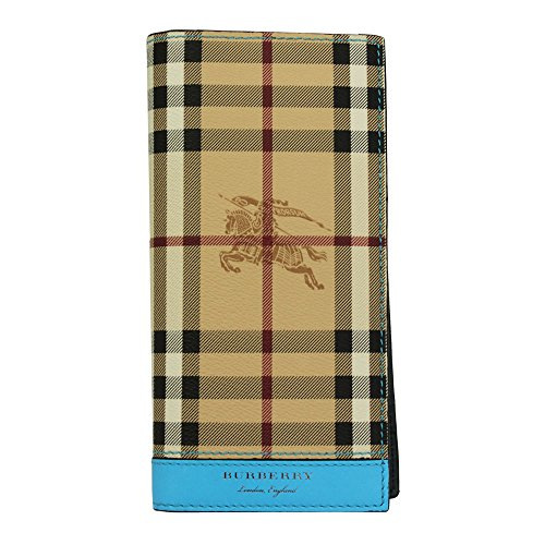 Burberry men's genuine leather wallet credit card bifold Cavendish (Burberry Mens Bag)