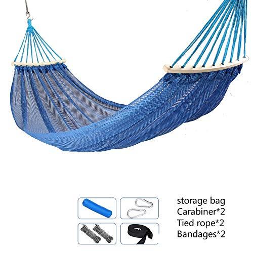 Amazon.com: HOKUGA Hamaca Swing – al aire libre Swing malla ...