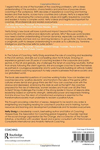 The Future of Coaching: Amazon.es: Hetty Einzig: Libros en ...