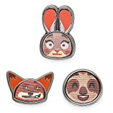 Disney Zootopia Emoji Mini Pin Set
