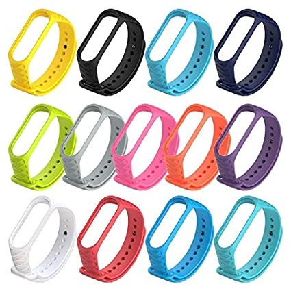 Amazon.com: LingStore Soft Silicone Replacement Smart Watch Case correas para reloj for Xiaomi Miband Mi Band 3 Case Smart Bracelet Cover: Kitchen & Dining