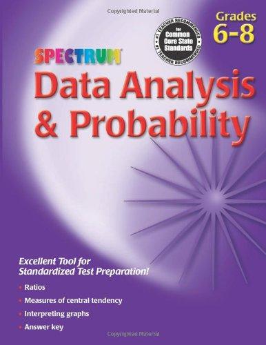 Data Analysis & Probability, Grades 6 - 8 (Spectrum)