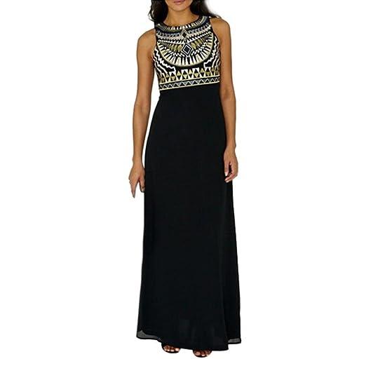 8174c6d2bf542 AmyDong Hot Sale! Ladies Dress, Women's Summer Boho Long Maxi Evening Party  Beach Dress