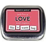 Magnetic Poetry - Little Box of Love Kit - Words for Refrigerator - Write Poems and Letters on the Fridge - Made in the USA