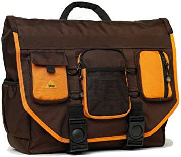Bbp Hamptons Hybrid Messenger Backpack Laptop Bag Black Small