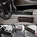 Car Storage Seat Side Between Pocket Multi Purpose Utility Case (VIP_Red)
