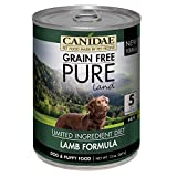 Canidae Grain Free Pure Land Dog Wet Formula With Lamb, 13 Oz (12-Pack)