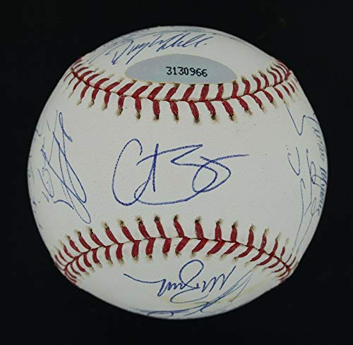 RARE 2004 Red Sox WSC Team Signed WS Ball (23) Pedro Martinez David Ortiz MLB - Autographed - Baseball Martinez Autographed Mlb