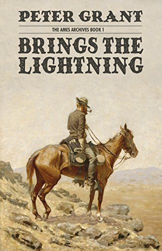 Book cover from Brings the Lightning (The Ames Archives Book 1)by Peter Grant