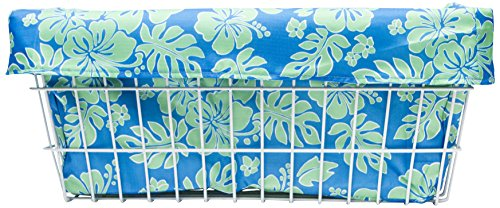 - Cruiser Candy Extra Large Blue/Green Hibiscus Trike Liner