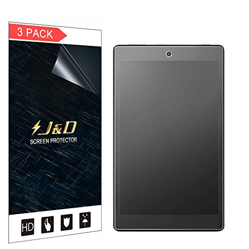 J&D Compatible for 3-Pack Fire 7 2017/Amazon Fire 7 2016/All-New Fire 7 Kids Edition Screen Protector, [Anti-Glare] Matte Film Shield Screen Protector for All-New Fire 7 2017 Matte Screen Protector