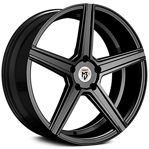 Fondmetal 189B KV1 20x10.5 5x114.3 +23mm Matte Black Wheel - 23 Mm Matte