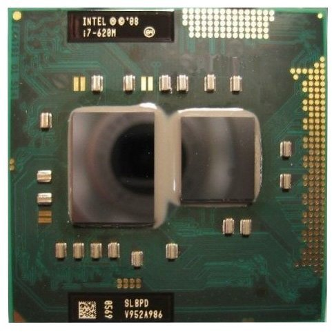Intel Core i7-620M 2.66GHz 4MB Dual-core Mobile CPU - Socket G1 Processor