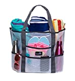 Best Beach Bags - Dejaroo Mesh Beach Bag - Toy Tote Bag Review