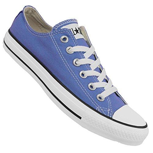Scarpe basse CONVERSE ALL STAR CLASSIC in tessuto azzurro 136564C