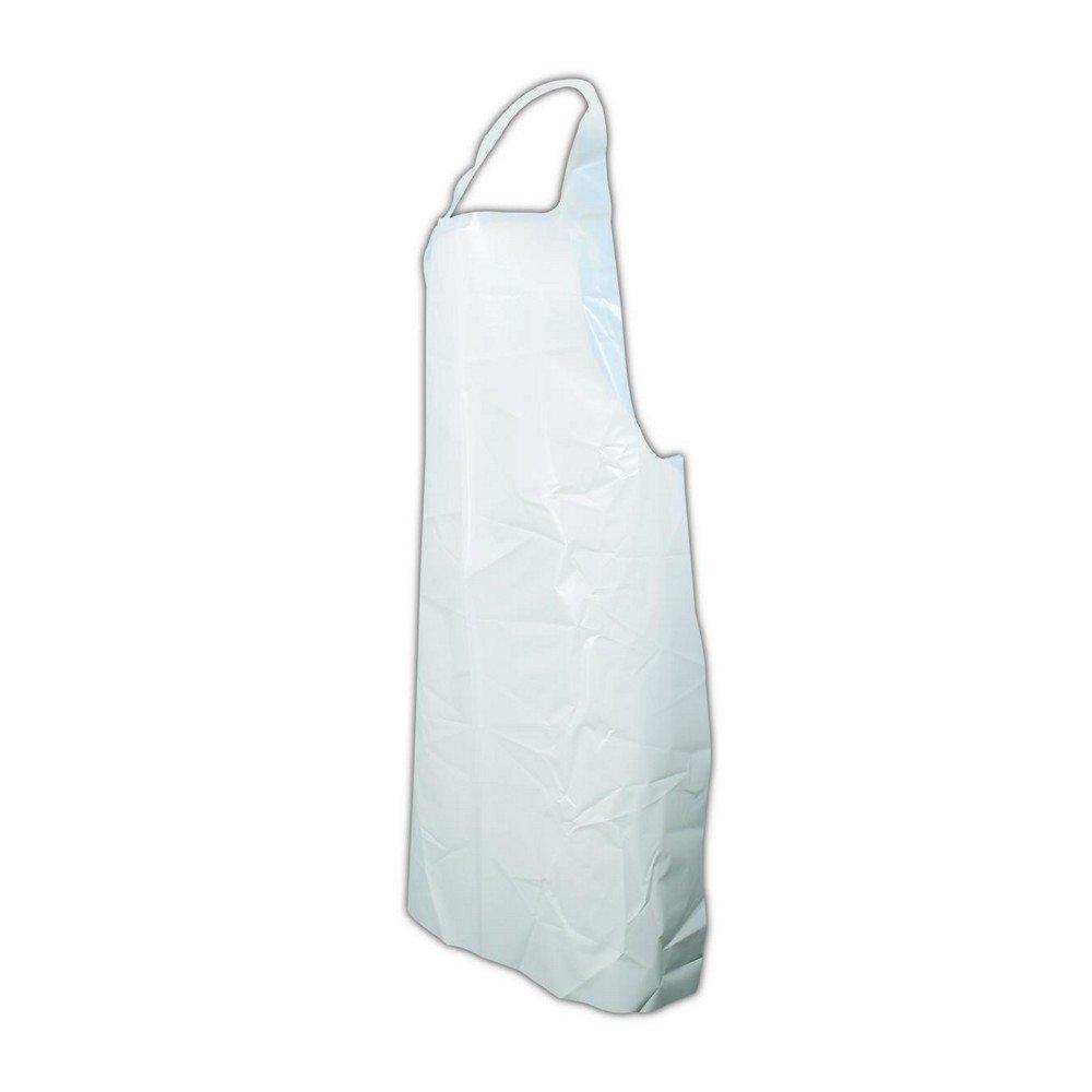 35 x 50 White PVC Magid Glove /& Safety VAW50-AMZN Vinyl Apron 6 mil Pack of 12