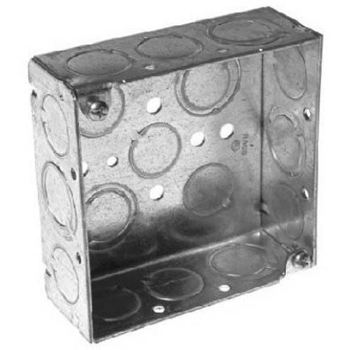 RACO INCORPORATED 8189 4 x 1-1/2'' Weld SQ Box