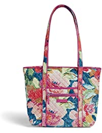 Iconic Small Vera Tote, Signature Cotton