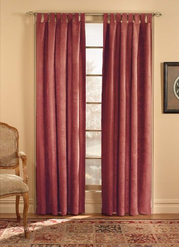 Microsuede Drapery Panel - CHF Microsuede Curtain Panel, 120