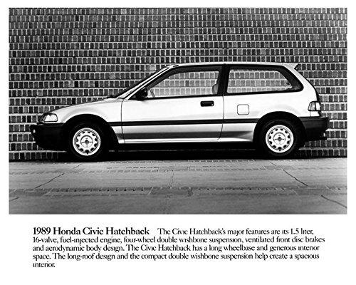 1989 honda civic hatchback engine
