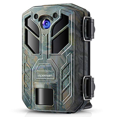 APEMAN Trail Camera 20MP 1080P Hunting Cameras, 40 PCs IR LED Vivid Night Visition Wildlife Camera, Game Camera for Home Security and Outdoor Nature Wild Scouting by APEMAN