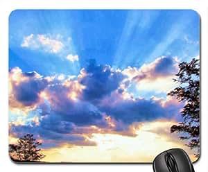 Inspirational Sunset Mouse Pad, Mousepad (Sky Mouse Pad)
