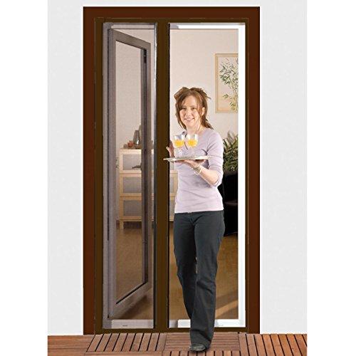 Fabulous Insektenschutzrollo Comfort für Türen 125 x 220 cm Insektenschutz  PC13