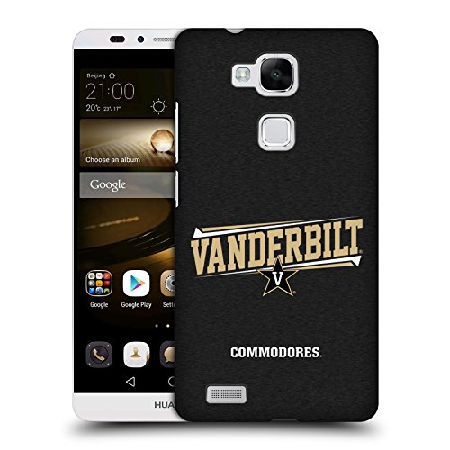 Official Vanderbilt University Vandy Double Bar Hard Back Case for Huawei Ascend Mate7