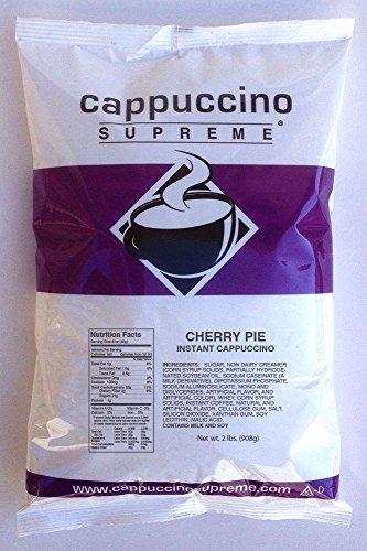 herry Pie 2 lb bag Instant Cappuccino Mix (Hot Cherry Pie)