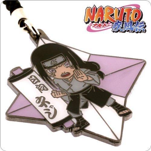 NARUTO Metal Ninja Star Netsuke Cell Phone Charm (Neji ...