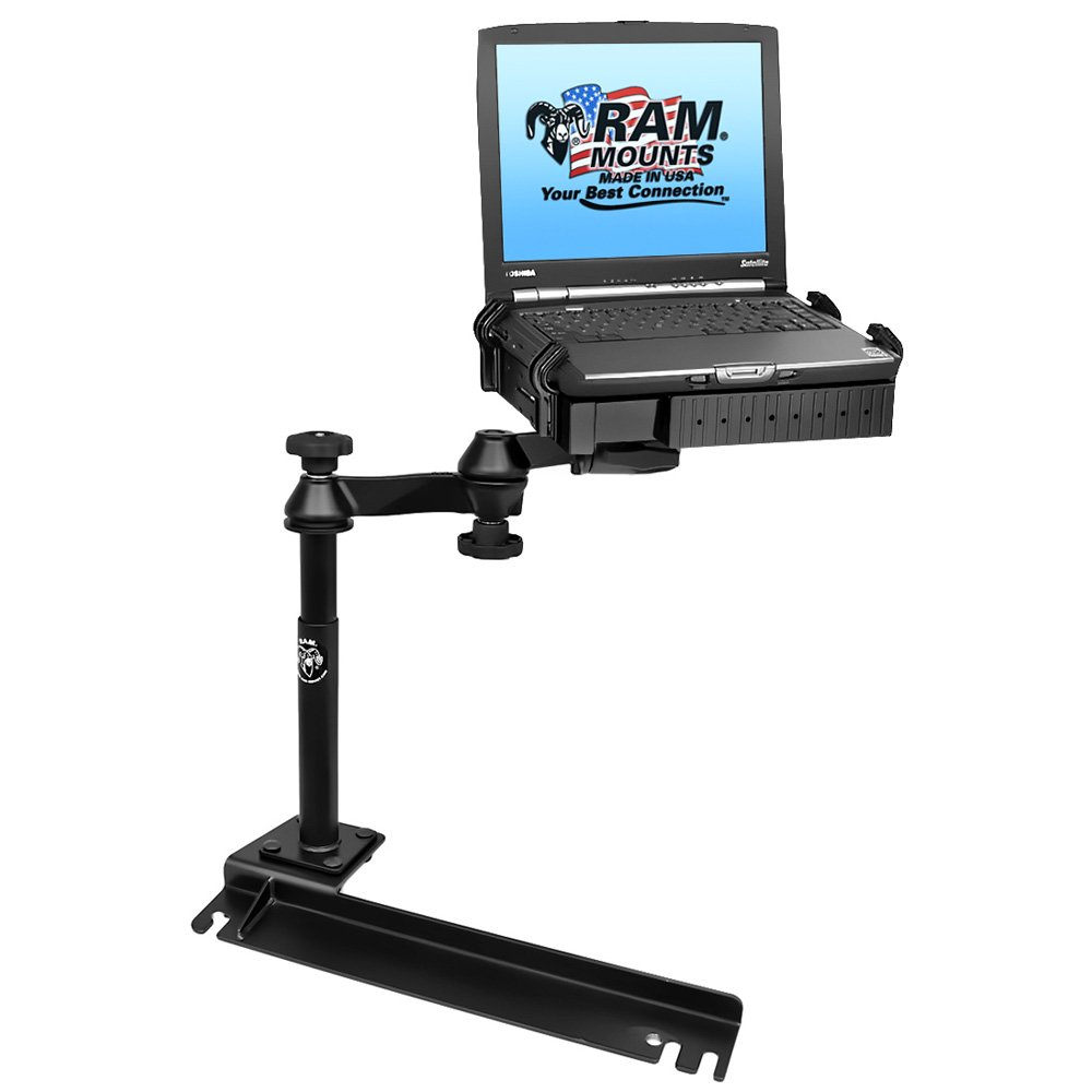RAM MOUNTING SYSTEMS RAM Mount No-Drill Laptop Mount f/Ford Transit Connect, Dodge Grand Caravan, Chrysler Town & Country / RAM-VB-175-SW1 /