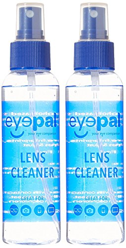 Eyepal Lens Cleaning Care Spray For Glasses  Camera   Lcd Screens    4Oz   2Pk