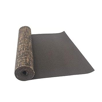 RCFRGVVEVCF Estera de Yoga 183X61X0.5Cm PVC Estera de Yoga ...