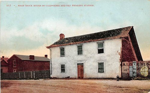 Old Whaling Station, California Postcard